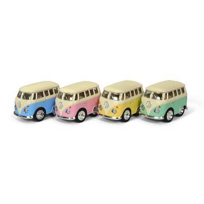 Breloc - Minimodel metalic Volkswagen - Van pastel