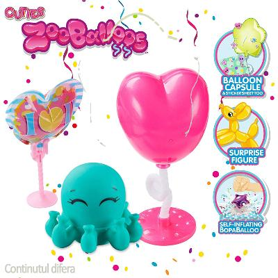 Zooballoos Rosu - Zoo-balonasele care rezista